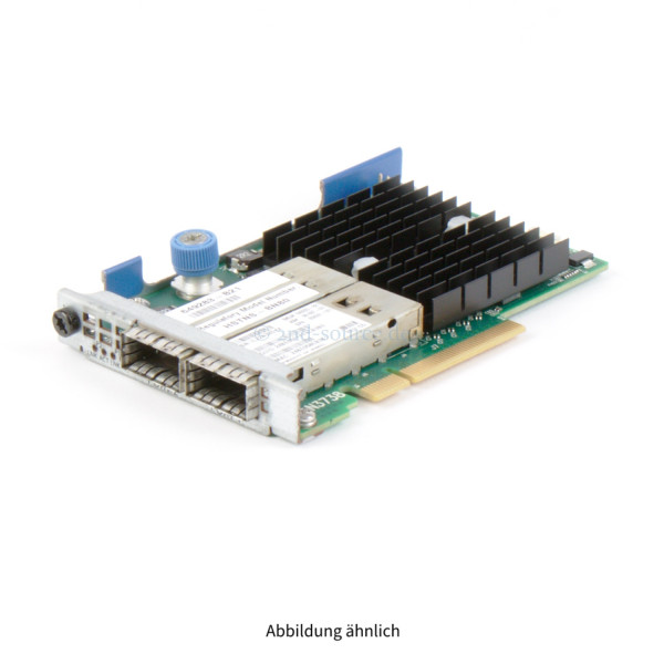 649283-B21|HP Infiniband QDR/Ethernet 10GB 2-Port 544FLR-QSFP Adapter 649283-B21 656091-001