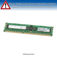 HP 8GB PC3-12800R DIMM Single Rank x4 (DDR3-1600) CL11 ECC 676333-B21 676812-001