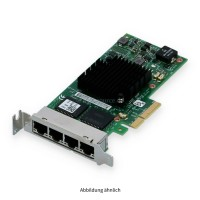 Dell Intel I350 4x 1000Base-T Ethernet Adapter Low Profile 540-BBDV T34F4 0T34F4