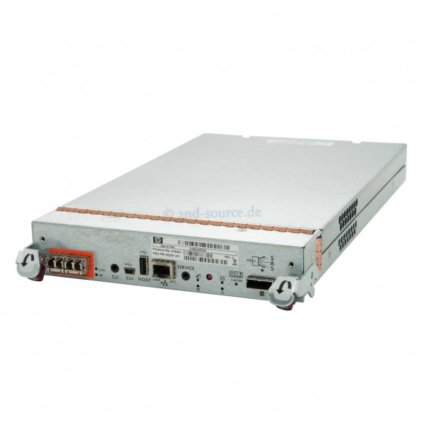 AP836A|HP StorageWorks P2000 G3 Modular Smart Array 8GB Fibre Channel Controller AP836A Spare 592261-001