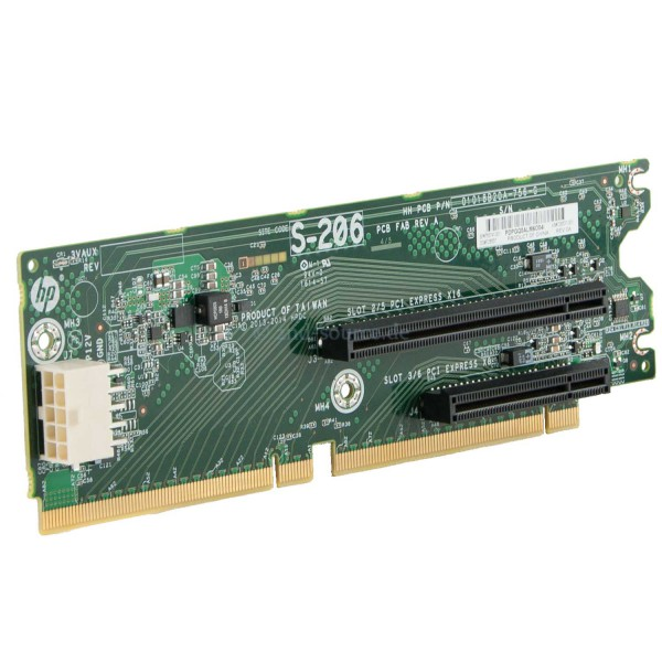 755741-001|HP PCI Board 2 slot x16 x8 DL380p G8 755741-001