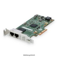 HP 361T 1GB PCIe 2-Port Ethernet Server Adapter Low Profile 652497-B21 656241-001