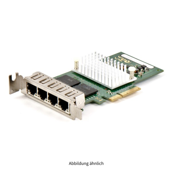 S26361-F3611-E201|Fujitsu PCIe 4-Port Gigabit Ethernet Netzwerkadapter D2745 Low Profile S26361-F3611-E201 D2745-A11 G3
