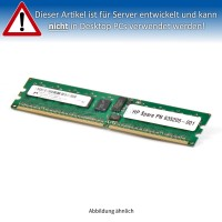 HP 1GB Cache PC2-6400P Single Rank DIMM (DDR2-800) Dual in-line 635205-001